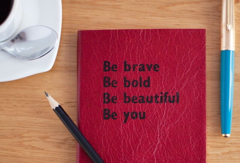 Create your Courage Statement. Answer the Call to Courage.