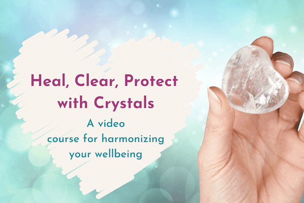 HEAL CLEAR PROTECT WITH CRYSTALS