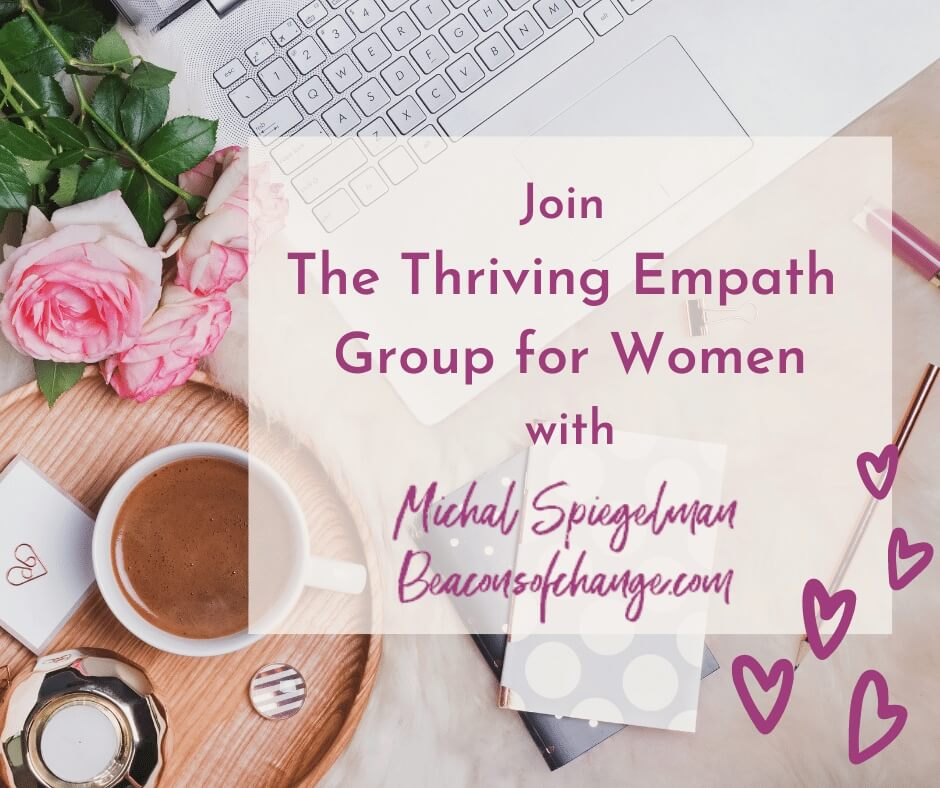 Join The Thriving Empath Group for Women