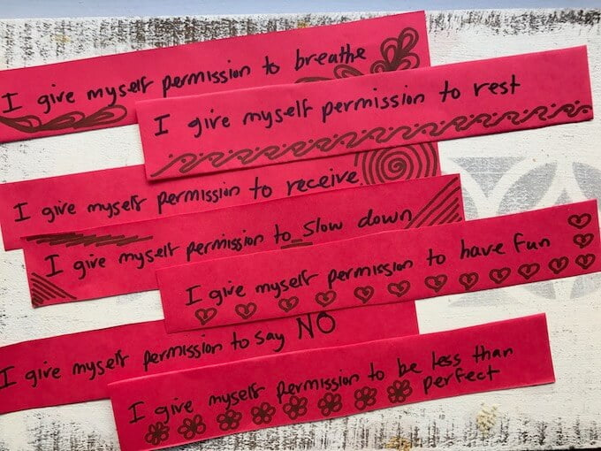 7 Permission Slips for… (???)