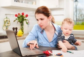 Working moms stop feeling  guilty